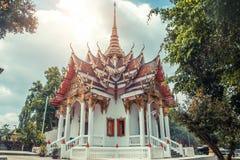 ναός Ταϊλανδός Το Wat παίρνει το ναό Ho, Anuphat Kritdaram Phuket, Ταϊλάνδη Στοκ εικόνα με δικαίωμα ελεύθερης χρήσης