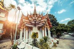 ναός Ταϊλανδός Το Wat παίρνει το ναό Ho, Anuphat Kritdaram Phuket, Ταϊλάνδη Στοκ φωτογραφίες με δικαίωμα ελεύθερης χρήσης