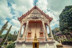 ναός Ταϊλανδός Το Wat παίρνει το ναό Ho, Anuphat Kritdaram Phuket, Ταϊλάνδη Στοκ Φωτογραφίες