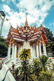 ναός Ταϊλανδός Το Wat παίρνει το ναό Ho, Anuphat Kritdaram Phuket, Ταϊλάνδη Στοκ Φωτογραφία