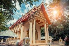 ναός Ταϊλανδός Wat Lang SAN, ναός Phuket, Ταϊλάνδη Charoen Samanakij Στοκ εικόνες με δικαίωμα ελεύθερης χρήσης