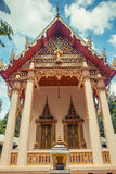 ναός Ταϊλανδός Wat Lang SAN, ναός Phuket, Ταϊλάνδη Charoen Samanakij Στοκ Φωτογραφία