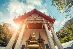 ναός Ταϊλανδός Wat Lang SAN, ναός Phuket, Ταϊλάνδη Charoen Samanakij Στοκ Εικόνα
