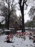 Ναός τετραγωνική Σωλτ Λέικ Σίτυ Γιούτα Στοκ εικόνες με δικαίωμα ελεύθερης χρήσης