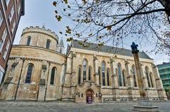 ναός της Αγγλίας Λονδίνο εκκλησιών στοκ εικόνα