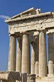 ναός της Αθήνας Ελλάδα parthenon Στοκ Εικόνες