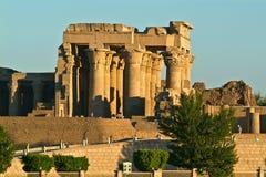 Ναός της Αιγύπτου Kom Ombo στοκ φωτογραφίες
