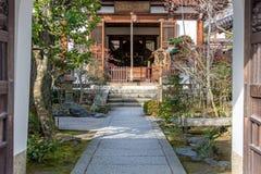 Ναός της Ιαπωνίας Tenruji Στοκ εικόνες με δικαίωμα ελεύθερης χρήσης