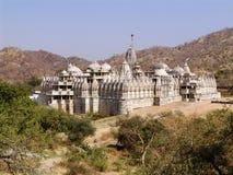 ναός της Ινδίας jain Rajasthan ranakpur Στοκ Φωτογραφία