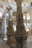 Ναός της Ινδίας Ranakpur Στοκ Εικόνες