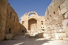ναός της Ιορδανίας artemis jerash Στοκ εικόνες με δικαίωμα ελεύθερης χρήσης