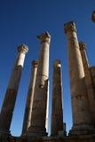 ναός της Ιορδανίας artemis jerash Στοκ Φωτογραφίες