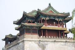 ναός της Κίνας Στοκ εικόνα με δικαίωμα ελεύθερης χρήσης