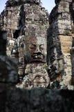 ναός της Καμπότζης περιοχής angkor bayon thom Στοκ εικόνες με δικαίωμα ελεύθερης χρήσης