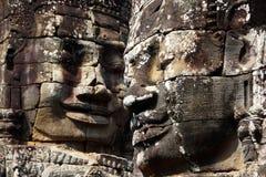 ναός της Καμπότζης περιοχής angkor bayon thom Στοκ Εικόνες