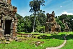 Ναός της Καμπότζης Στοκ εικόνα με δικαίωμα ελεύθερης χρήσης