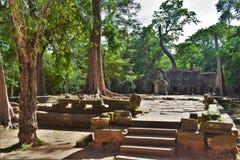 Ναός της Καμπότζης Στοκ Φωτογραφία