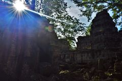Ναός της Καμπότζης Στοκ Εικόνα