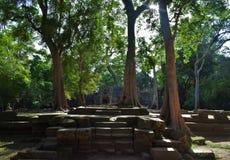 Ναός της Καμπότζης Στοκ φωτογραφίες με δικαίωμα ελεύθερης χρήσης