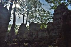 Ναός της Καμπότζης Στοκ εικόνες με δικαίωμα ελεύθερης χρήσης