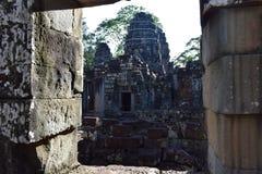 Ναός της Καμπότζης Στοκ φωτογραφία με δικαίωμα ελεύθερης χρήσης