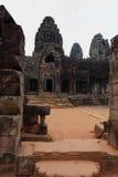 ναός της Καμπότζης angkor bayon Στοκ Φωτογραφίες