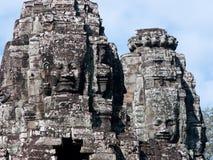ναός της Καμπότζης angkor bayon thom Στοκ Εικόνα