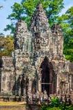 ναός της Καμπότζης angkor bayon thom Στοκ εικόνες με δικαίωμα ελεύθερης χρήσης