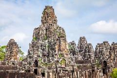 ναός της Καμπότζης angkor bayon thom Στοκ φωτογραφίες με δικαίωμα ελεύθερης χρήσης