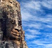 ναός της Καμπότζης angkor bayon thom Στοκ Φωτογραφίες