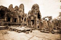 ναός της Καμπότζης angkor bayon thom Στοκ εικόνα με δικαίωμα ελεύθερης χρήσης