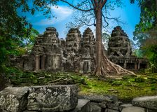 ναός της Καμπότζης angkor wat αρχαία αρχιτεκτονική Στοκ εικόνα με δικαίωμα ελεύθερης χρήσης