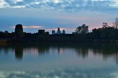 ναός της Καμπότζης angkor wat Στοκ Εικόνες