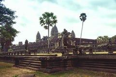 ναός της Καμπότζης angkor wat Στοκ εικόνα με δικαίωμα ελεύθερης χρήσης