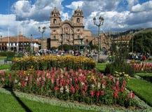 Ναός της κοινωνίας του Ιησού Church Cusco Περού Στοκ Φωτογραφίες