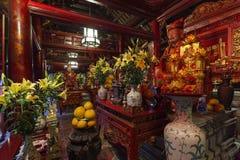 Ναός της λογοτεχνίας στο Ανόι, Βιετνάμ στοκ φωτογραφία με δικαίωμα ελεύθερης χρήσης