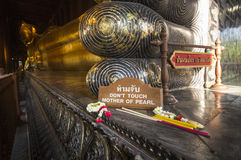 ναός της Μπανγκόκ po wat Στοκ φωτογραφίες με δικαίωμα ελεύθερης χρήσης