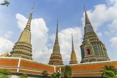 ναός της Μπανγκόκ po wat Στοκ Εικόνα