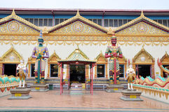 Ναός της Ταϊλάνδης Στοκ φωτογραφία με δικαίωμα ελεύθερης χρήσης
