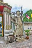 Ναός της Ταϊλάνδης Μπανγκόκ του ξαπλώνοντας Βούδα (Wat Pho) στοκ φωτογραφία