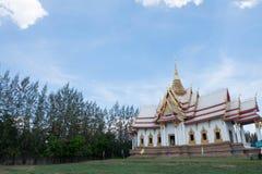 Ναός της Ταϊλάνδης στη βόρεια χώρα Στοκ φωτογραφία με δικαίωμα ελεύθερης χρήσης