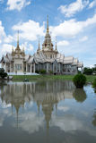 Ναός της Ταϊλάνδης στη βόρεια χώρα Στοκ Φωτογραφίες