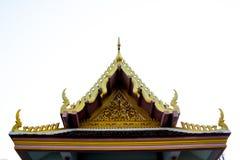 Ναός της Ταϊλάνδης Στοκ εικόνες με δικαίωμα ελεύθερης χρήσης
