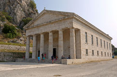 Ναός της Artemis, Κέρκυρα Ελλάδα Στοκ Φωτογραφίες