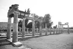 Ναός της Artemis στην Ελλάδα Στοκ Φωτογραφία