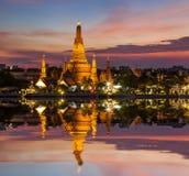 Ναός της Dawn, Wat Arun, Μπανγκόκ, Ταϊλάνδη Στοκ φωτογραφία με δικαίωμα ελεύθερης χρήσης