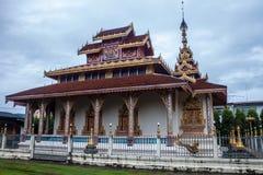 Ναός της Hua Wiang Wat Στοκ φωτογραφία με δικαίωμα ελεύθερης χρήσης