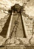 Ναός της Maya Στοκ εικόνα με δικαίωμα ελεύθερης χρήσης
