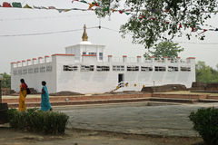 Ναός της Maya Devi σε Lumbini Στοκ Εικόνα