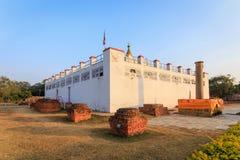 Ναός της Maya Devi Στοκ εικόνα με δικαίωμα ελεύθερης χρήσης